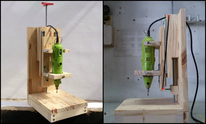 How to build a drill press for $20