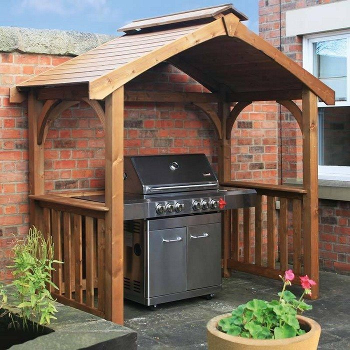 Build a grill gazebo for your backyard! | DIY projects for ...