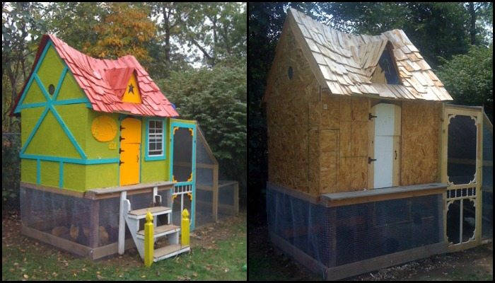 Fairytale Cottage Chicken Coop