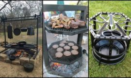 Fire Pit Grill Ideas for Your Backyard