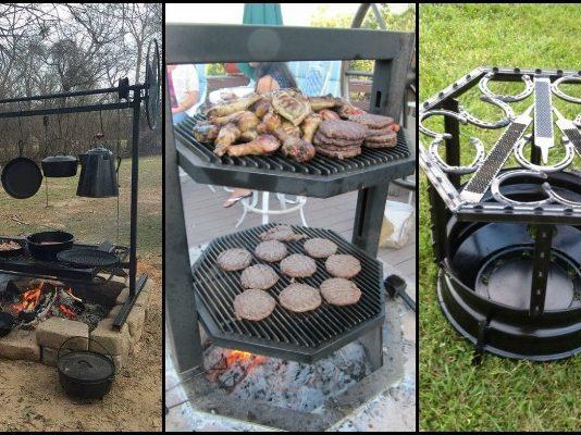 Fire Pit Grill Ideas
