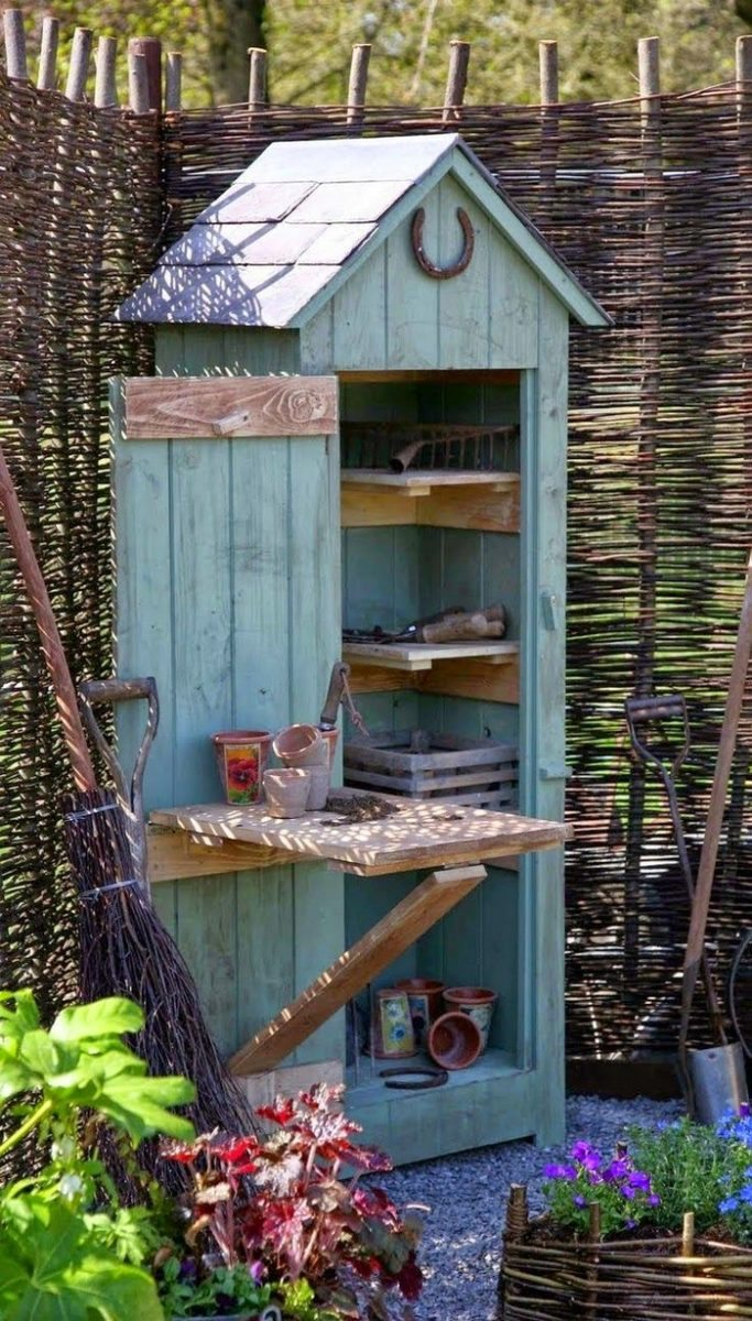 Build your own whimsical garden tool shed | DIY projects for everyone!