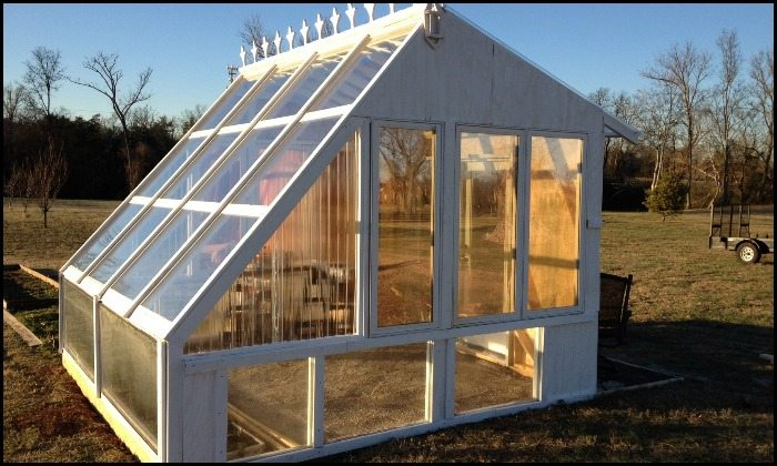 Build a gorgeous greenhouse from old windows