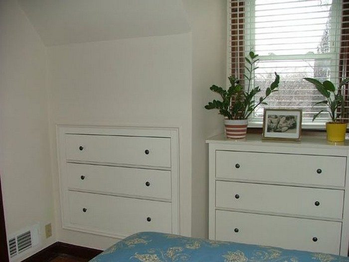 How To Build A Knee Wall Storage Dresser Diy Projects