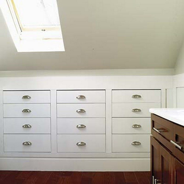 How to build a knee wall storage dresser | DIY projects ...