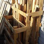 Pallet Wood Storage