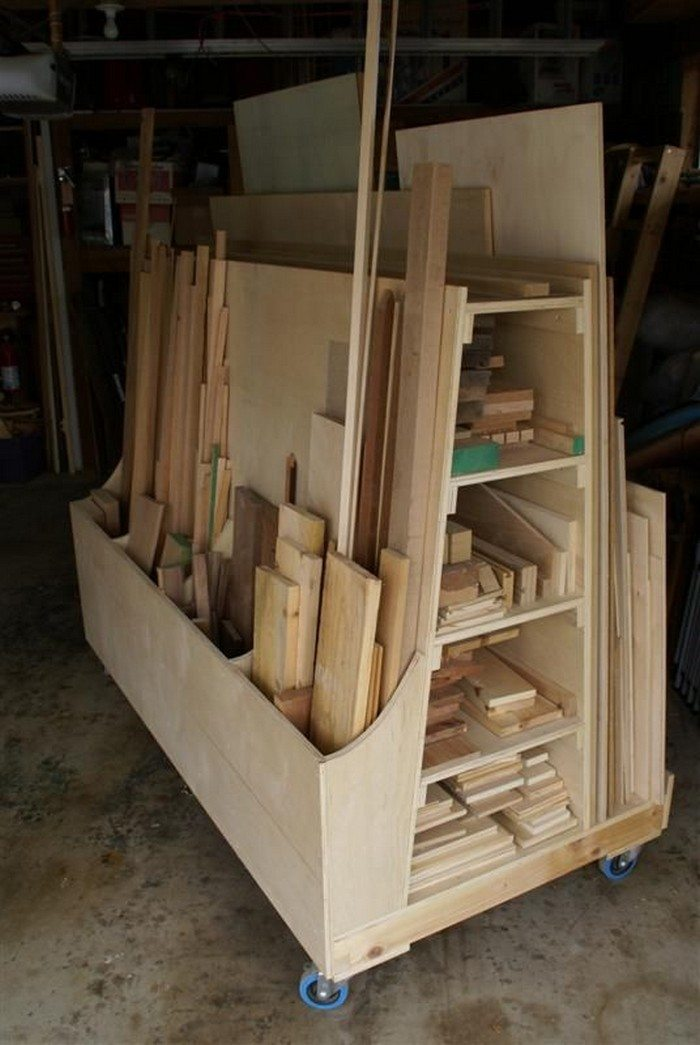 of woodworking workshop needed sheet an project solutions garage wood ordinary portable free inexpensive archive lumber i scrap ideas rack way goods storage photo plans
