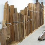 Vertical Lumber Storage