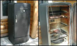 Turn an old fridge into a smoker!
