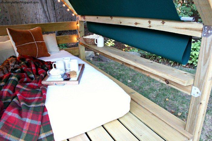 how to build a cabana