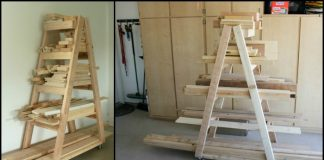 Portable Lumber Rack
