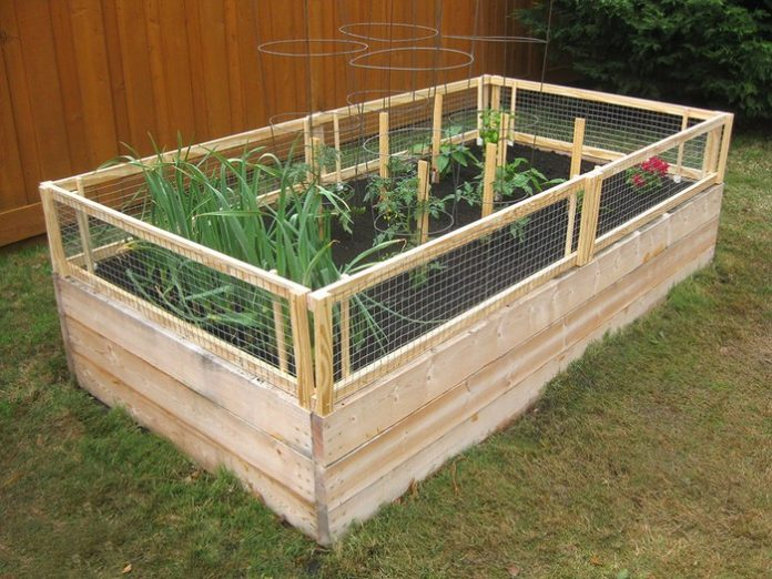Removable Garden Bed Fence