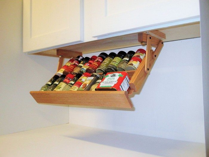 Ikea Hack Built In Spice Rack Diy Projects For Everyone