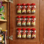 Cabinet Door Spice Clips