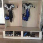 Football Gear Storage