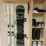 Mudroom Ski Rack