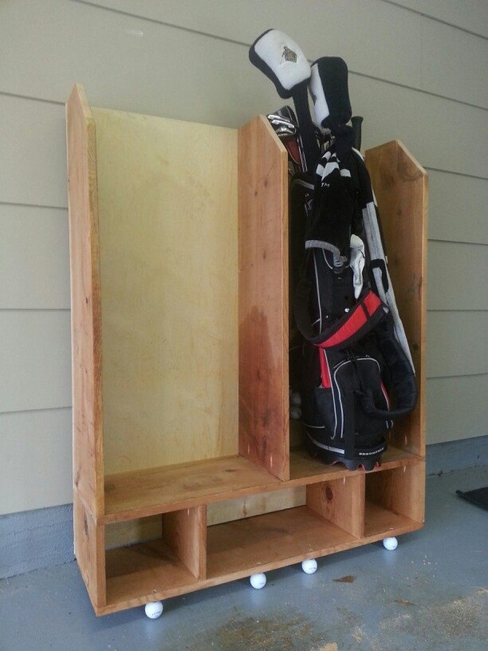 Build A Custom Sports Equipment Storage Diy Projects
