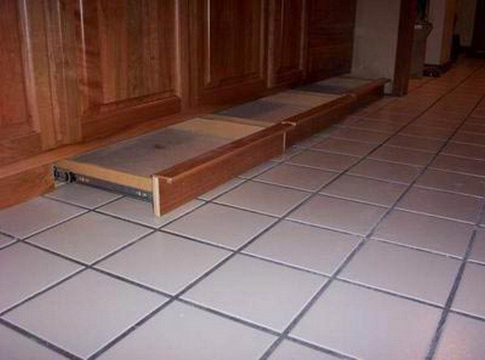 How To Build A Toe Kick Drawer Diy Projects For Everyone