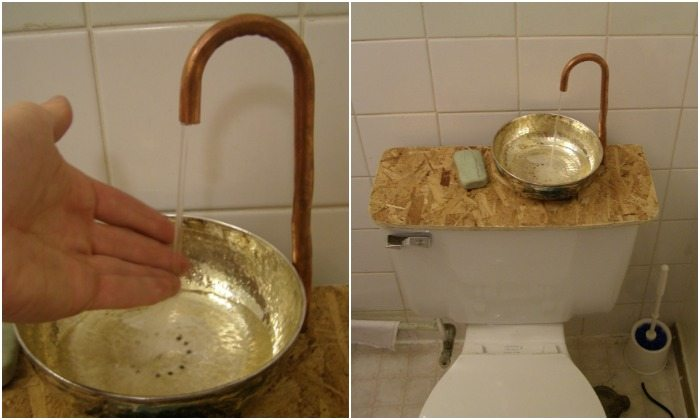 Learn How To Make A Toilet Tank Sink Diy Projects For