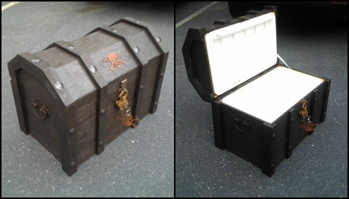 Build an awesome treasure chest cooler!