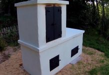 All-in-One Smokehouse, Pizza Oven and Grill