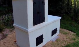 Build an all-in-one smokehouse, pizza oven and grill in your backyard!