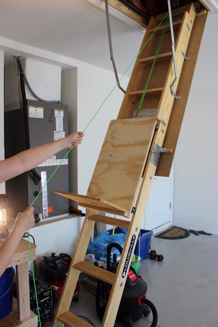 ... ease with this DIY attic storage lift! | DIY projects for everyone