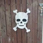 DIY Skull Decor from Scrap Timber