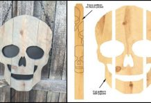 Make Scary Skulls Out of Scrap Timber
