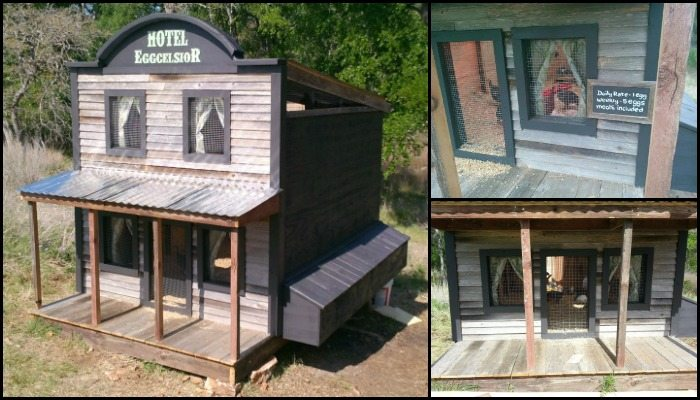 The Eggcelsior – Hotel-Inspired Chicken Coop!