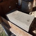 Heated Chicken Waterer - Cinder Block