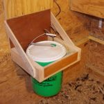 Heated Chicken Waterer - Hanging Bucket