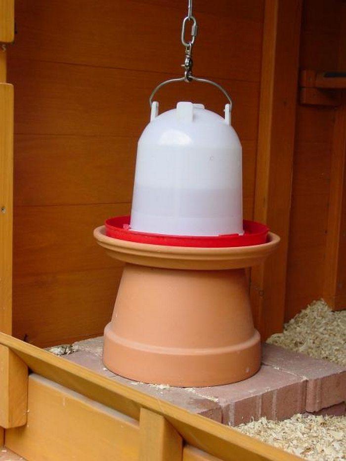 Build A Cinder Block Chicken Waterer Heater Diy