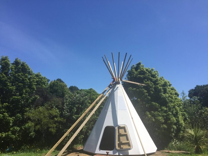 How To Make Teepee Over Dog Bed