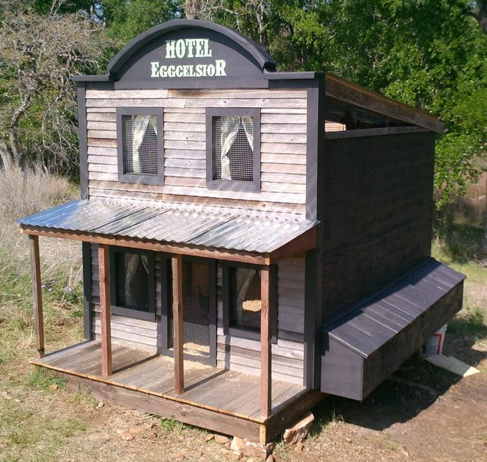 The Eggcelsior Chicken Coop