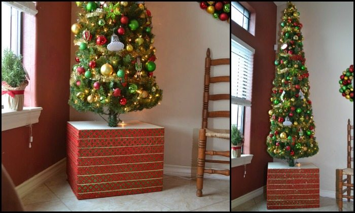 Make your Christmas tree base sturdy and pretty!