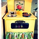 DIY Play Kitchen from Nightstand