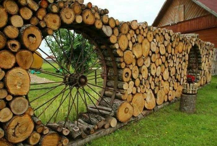 Cordwood Fences!