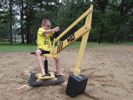 DIY sand excavator