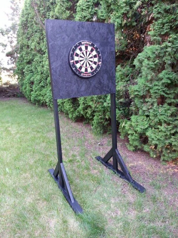 how to build a dart board