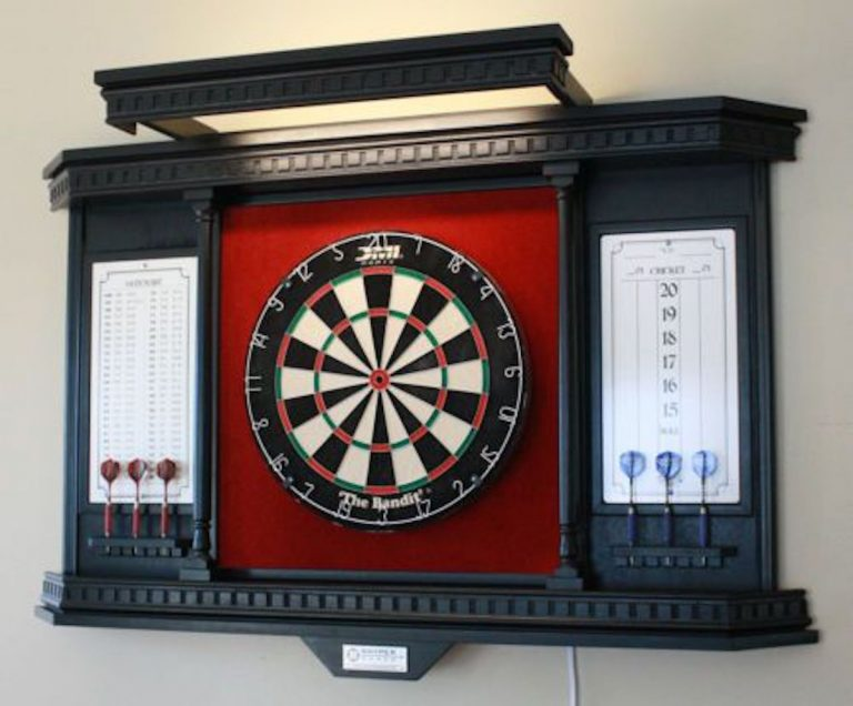 How to build an outdoor dartboard stand