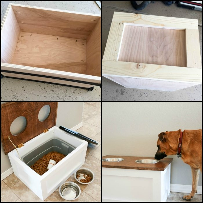 You Can Adjust The Height Of The Box According To How Tall Your Dog Is. And  You Can Paint It In Any Color That You Want. You May Also Want To  Personalize ...