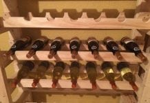 Homemade drop down battery dispenser diy projects for everyone how to build your own wine rack tower solutioingenieria Images