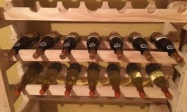 How to Build your Own Wine Rack Tower