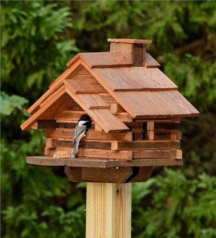 How To Make A Log Cabin Birdhouse Diy Projects For Everyone