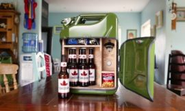 How to Turn a Jerry Can into a Portable Mini Bar