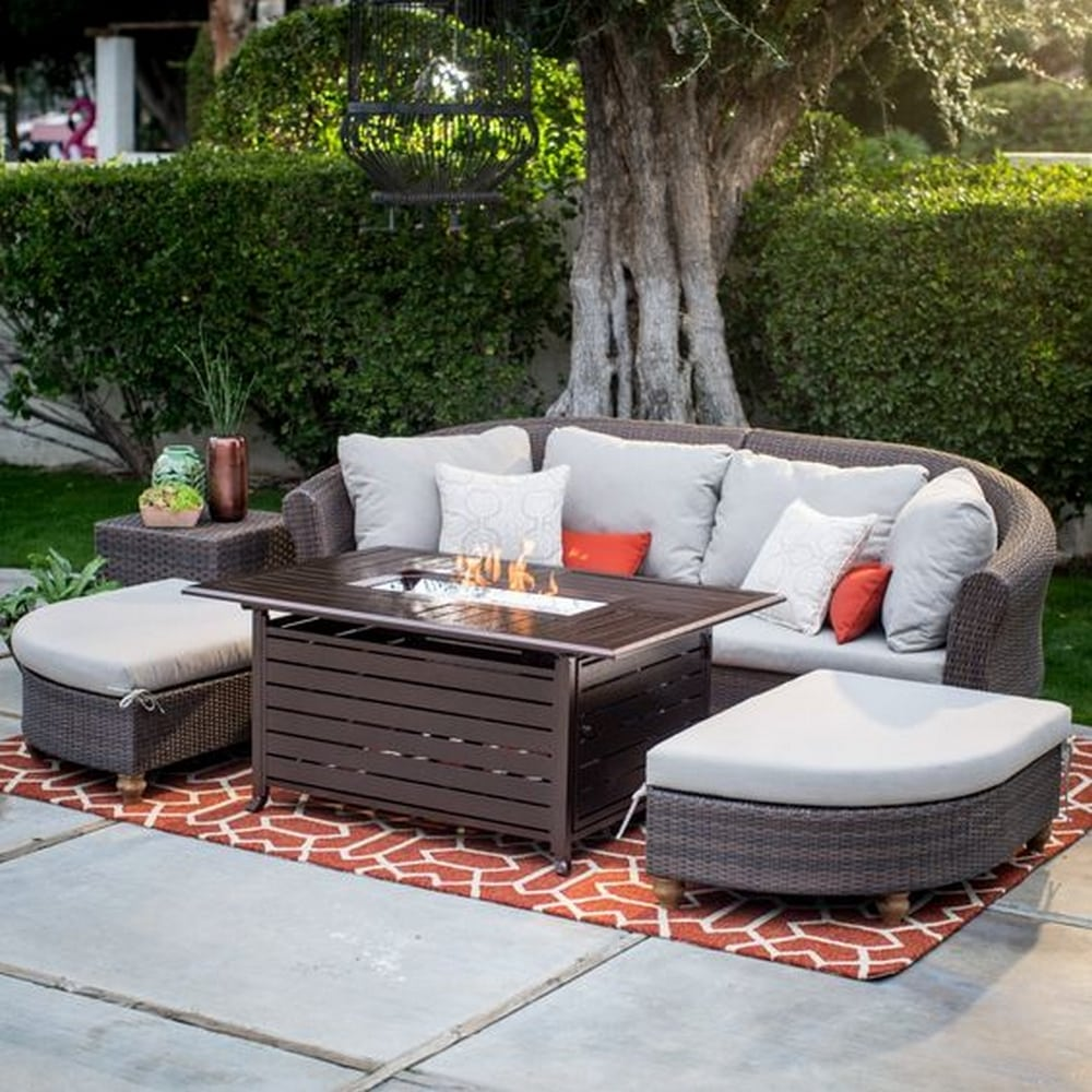 DIY Fire Pit Coffee Table - DIY projects for everyone!