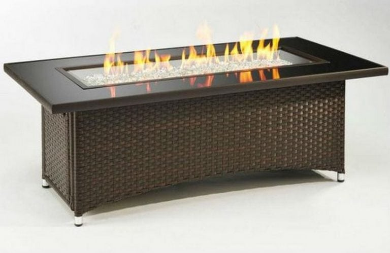 DIY Fire Pit Coffee Table