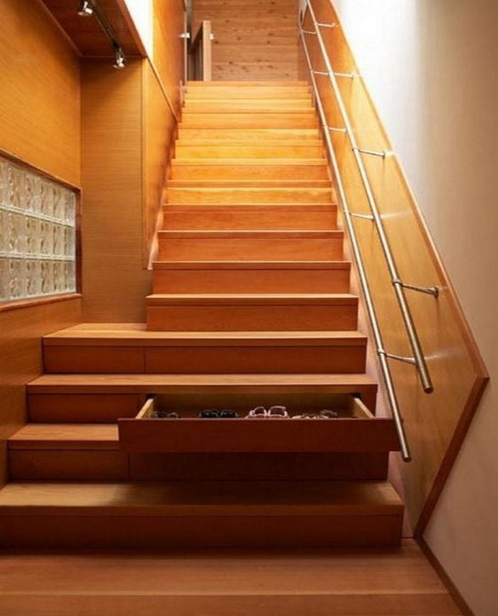 4 Diy Decorating Ideas For A Staircase: How To Add Drawers To Your Staircase