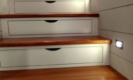 How to Add Drawers to Your Staircase